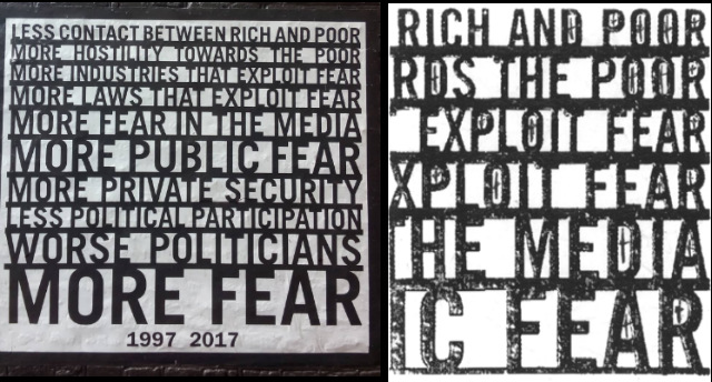 Amsterdam poster on left courtesy of  mpghann ; section of  OKC -era artwork on right