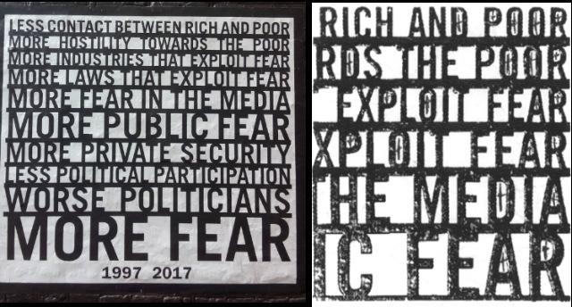 Amsterdam poster on left courtesy of  mpghann ; section of  OKC -era artwork on right