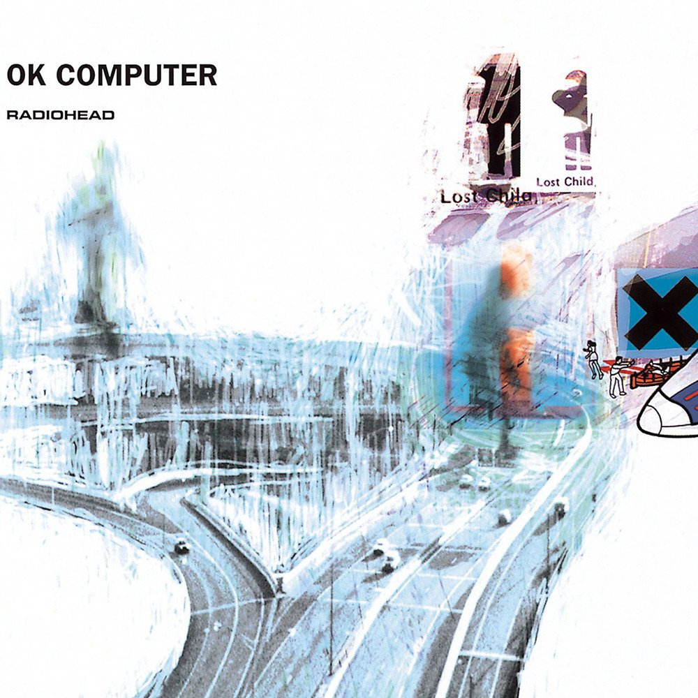 Iconic  OK Computer album cover