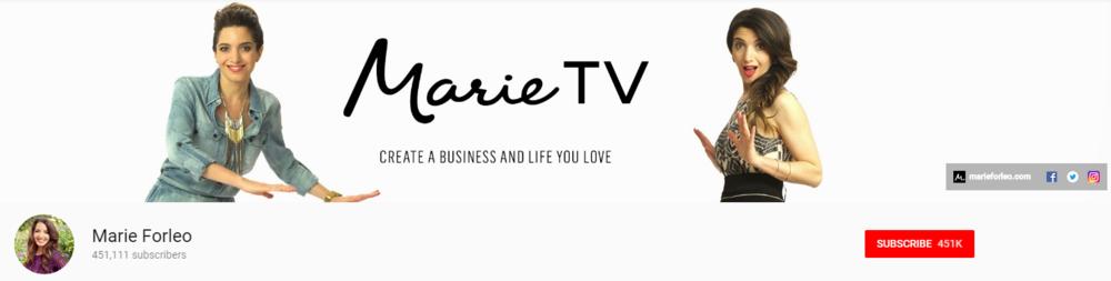 marie tv youtube