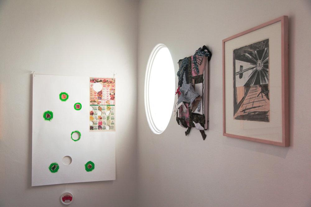 Installation view: B. Wurtz, Nik Geene, René Daniëls