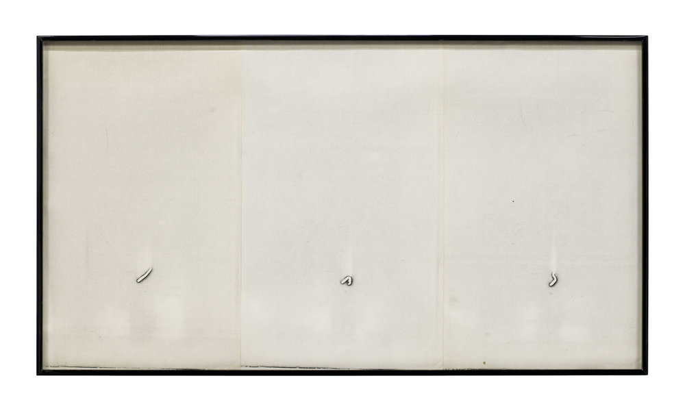 Barbara T. Smith   Inchworm , 1965-66, Xerox, 14.25 x 25.75 inches