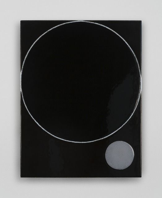 Ulrike Müller   Mirrors , 2013, Vitreous enamel on steel, 15.5 x 12 inches