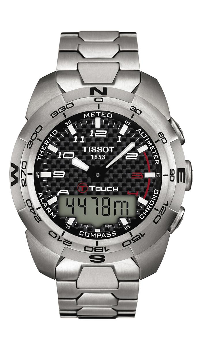 T-TOUCH EXPERT TITANIUM. Ref: T013_420_44_202_00
