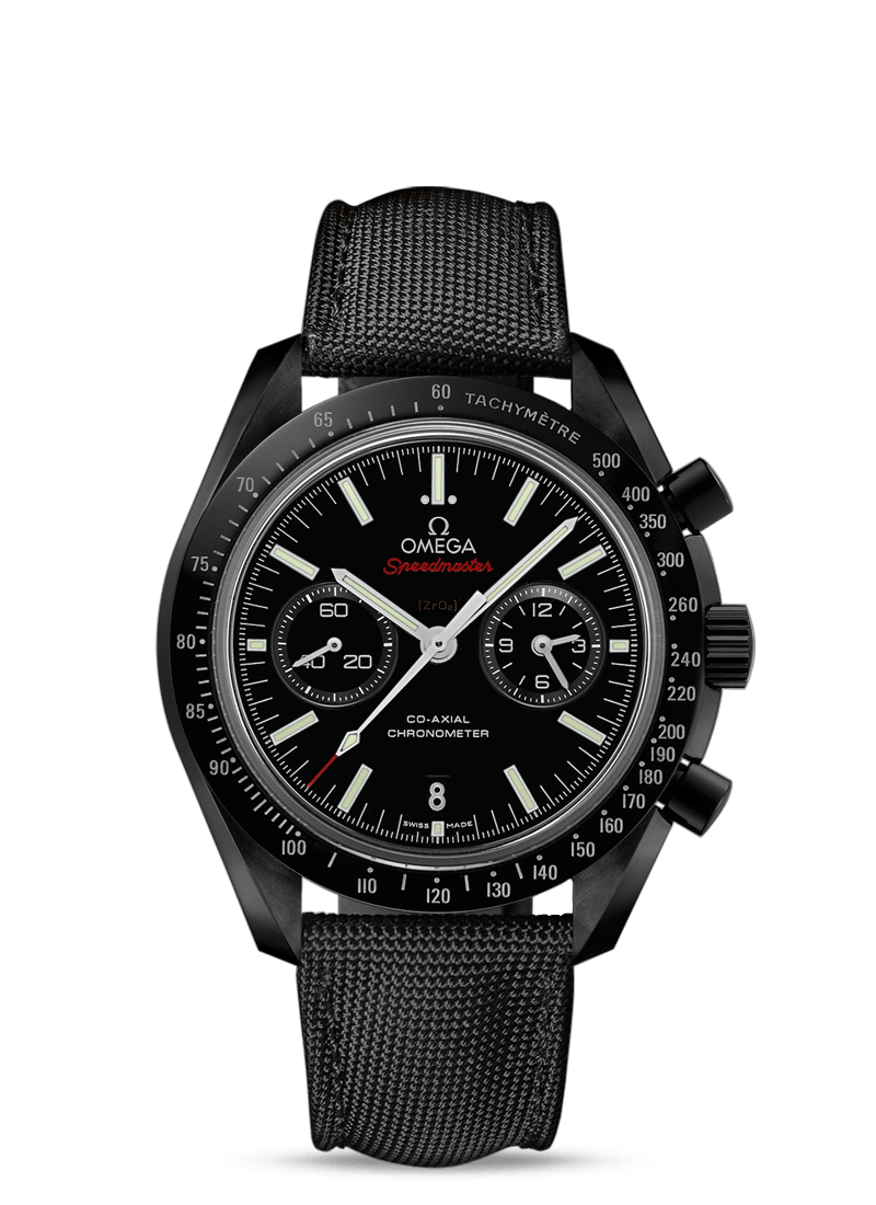 MOONWATCH OMEGA CO-AXIAL CHRONOGRAPH 44.25 MM Dark Side of the Moon