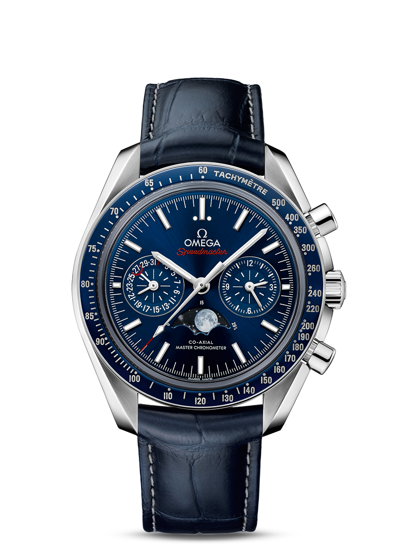 MOONWATCH OMEGA CO-AXIAL MASTER CHRONOMETER MOONPHASE CHRONOGRAPH 44.25 MM