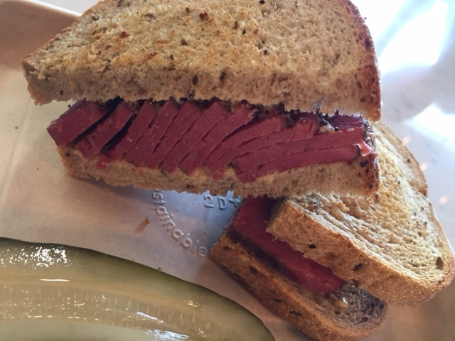 11 day Pastrami Sandwich
