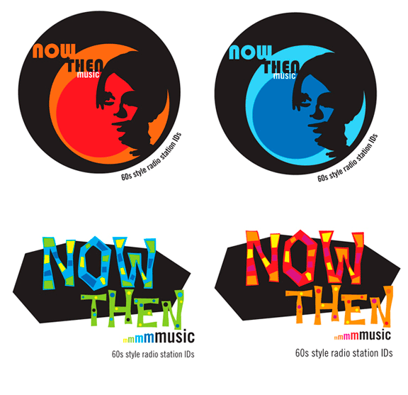 2009: Now Then Music: Logo Ideas; not chosen for use