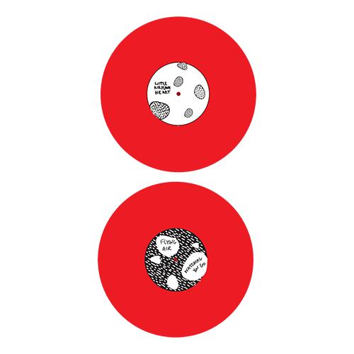 "2007: Jennifer O'Connor & Choo Choo La Rouge: ""Little Airplane Heart"" 7"" vinyl"
