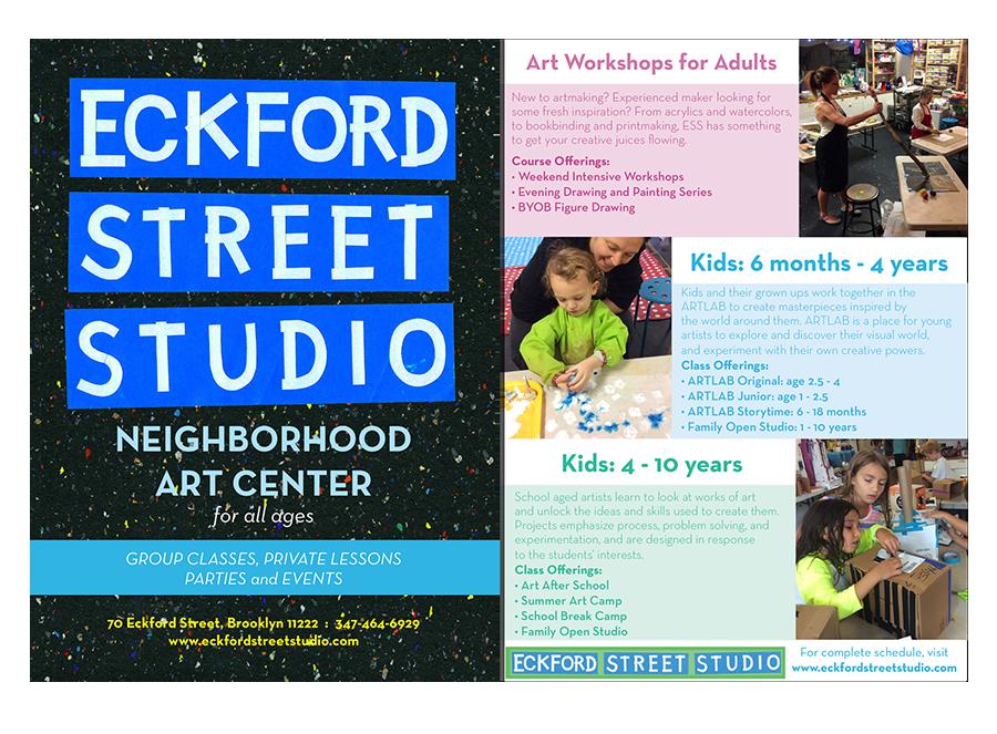 2016: Eckford Street Studio Postcard