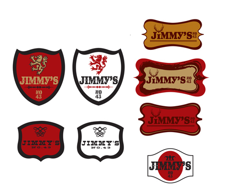 2007: Jimmy's No. 43: Other Logo Ideas (not used)