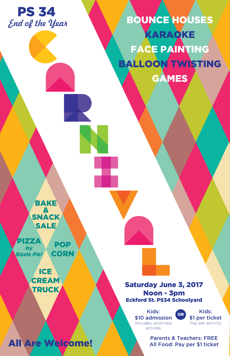 2016: PS 34: Carnival Poster