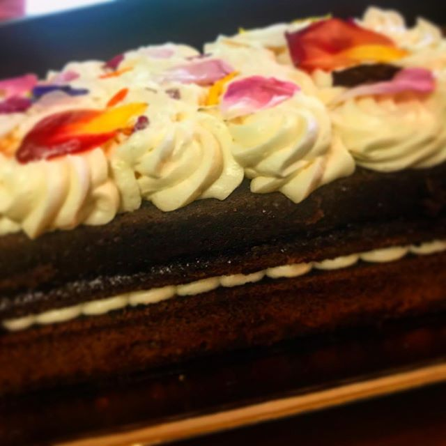 Chocolate Velvet Cake...ok Mom's we've got something waiting for you. Happy Mother's Day from Taste! #mothersday #cake #bakery #marin #tastekitchenandtable #dessert #brunch