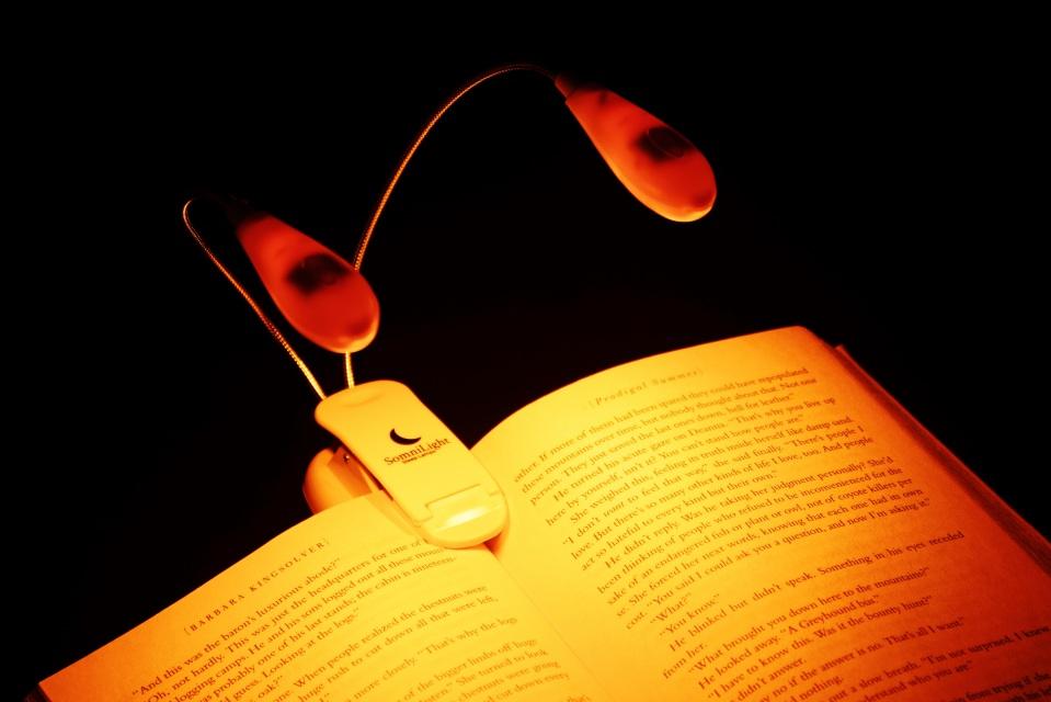 Somnilight Amber Reading Light -