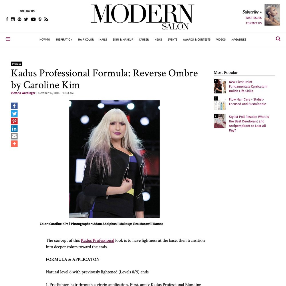 Modern Salon<br />October 19, 2016