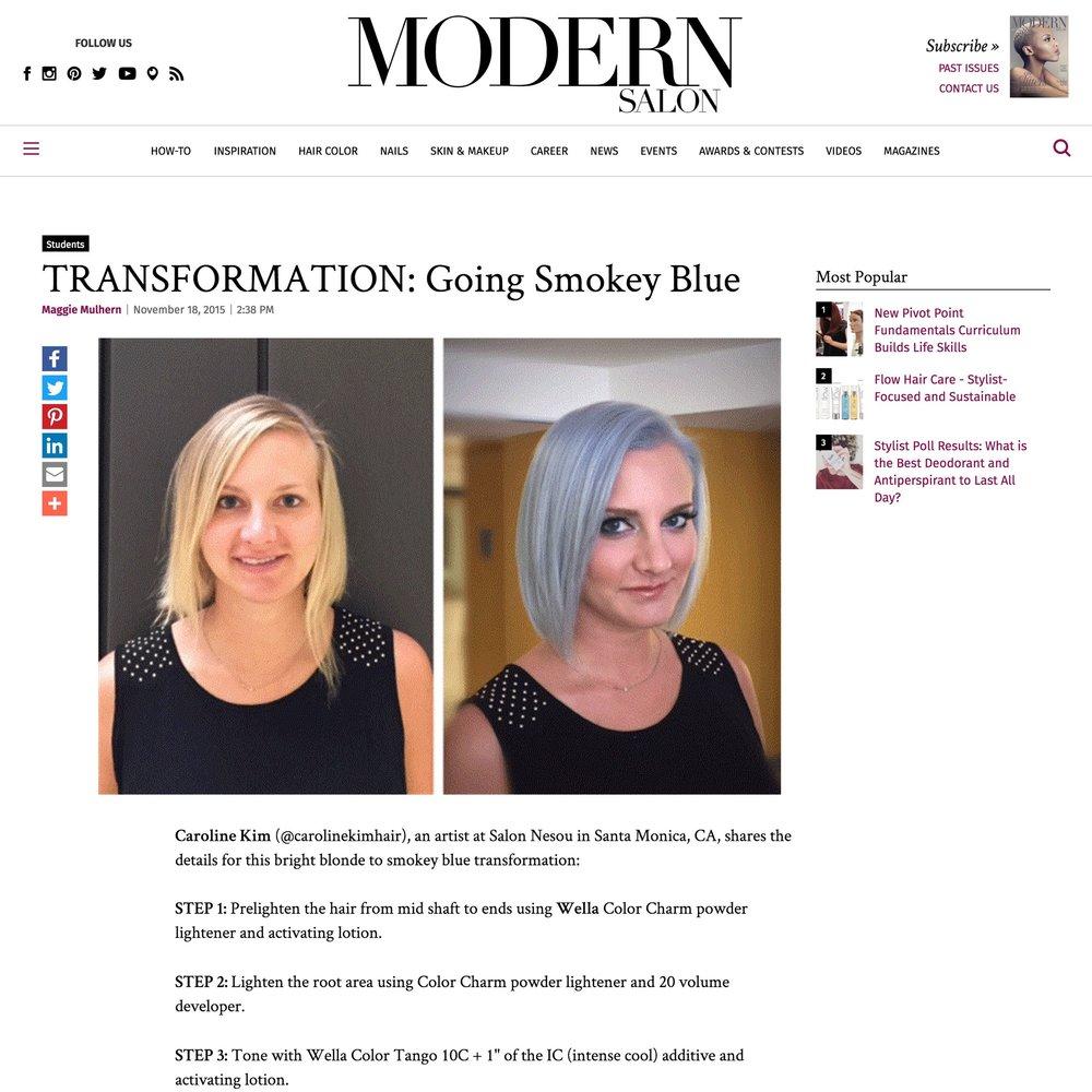 Modern Salon<br />November 18, 2015