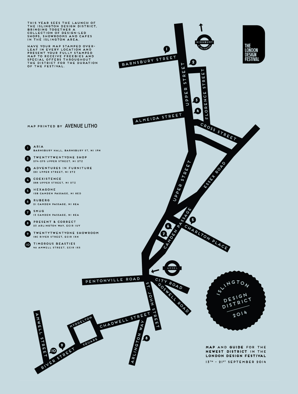 Islington Design District -