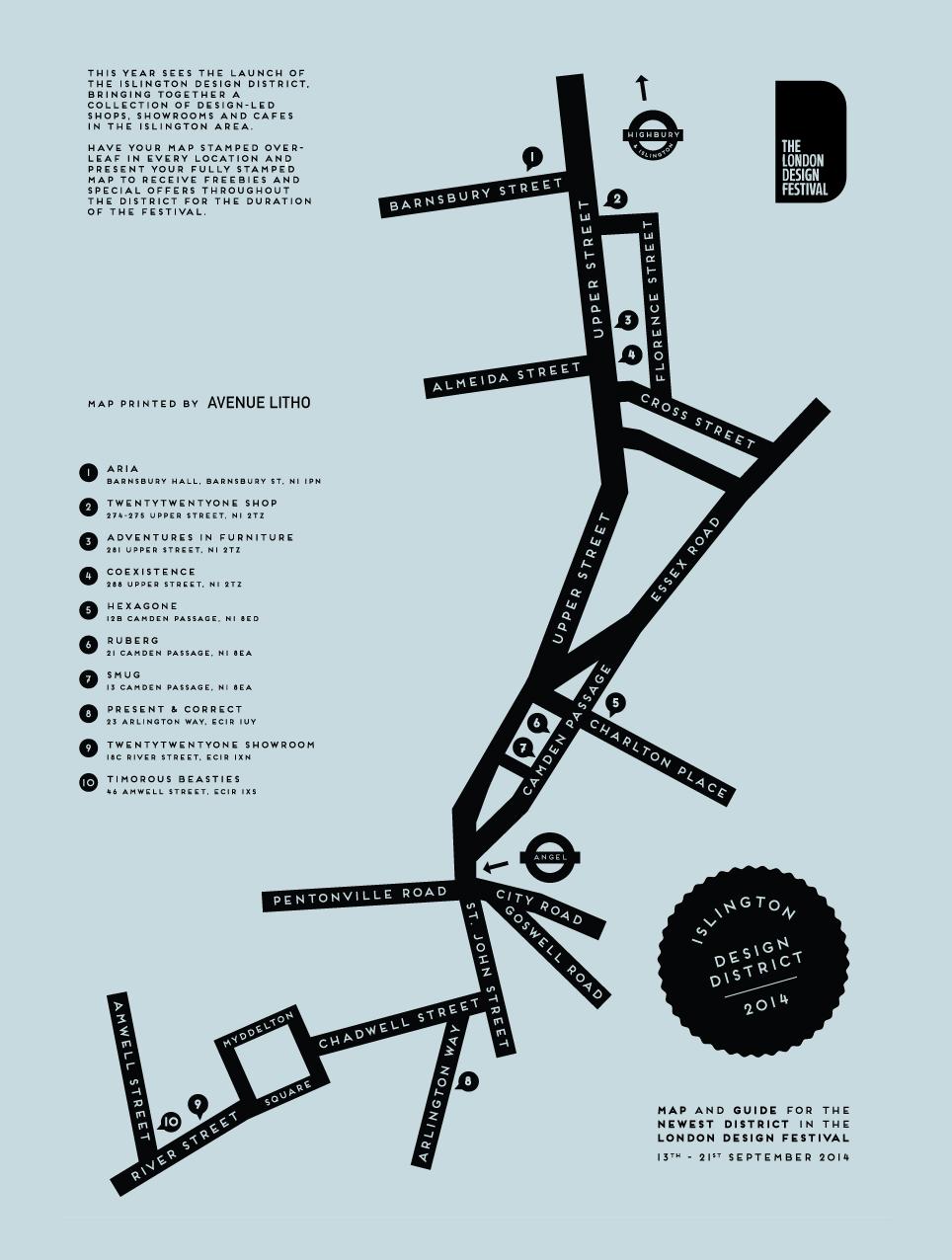 Islington Design District -