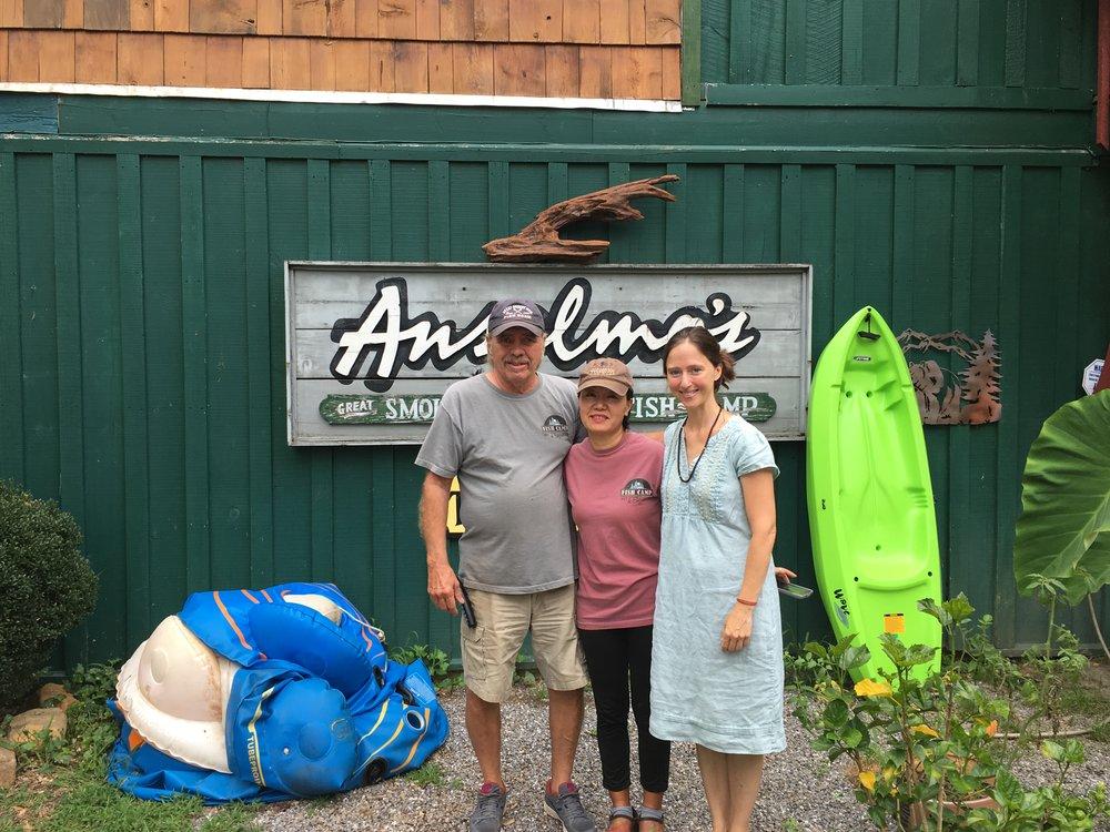 At Anselmo's Fishcamp and Safari