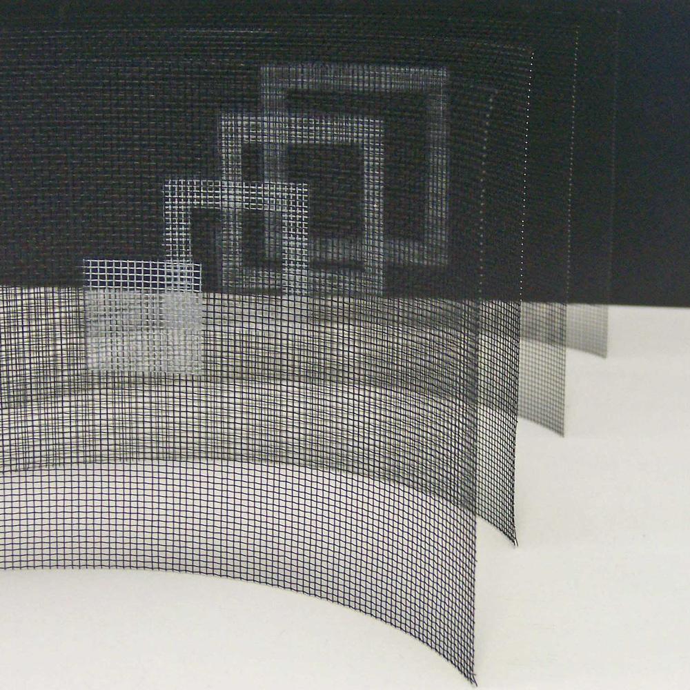 Britt Salt, 'Two Dimensional Form'(Detail) 2007, Aluminium, enamel, 31x17x13 cm (2).jpg