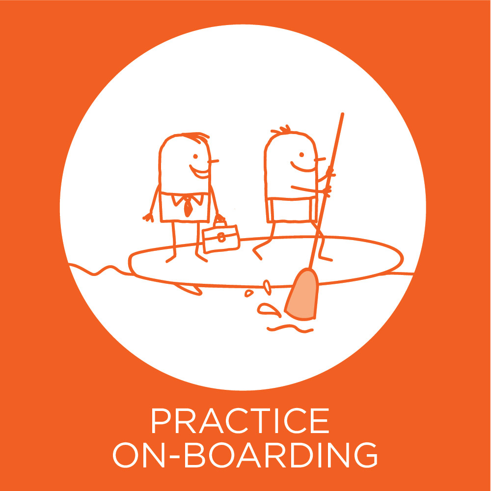 Practice on-boarding