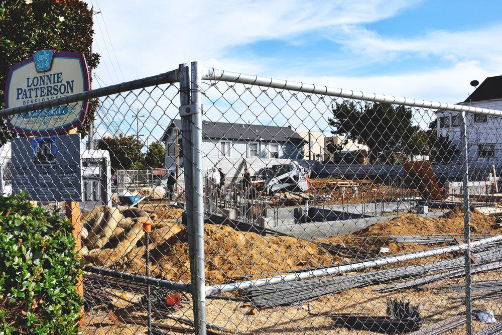 Beginning of development. Permit acquired. Wyndfair site.