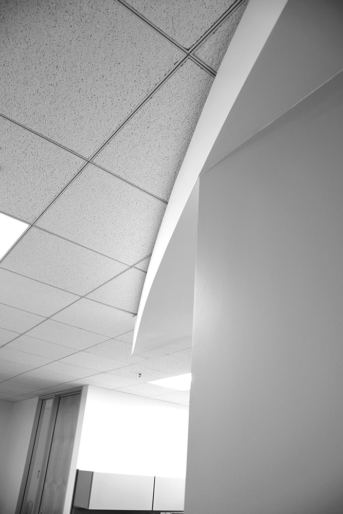 Reception Ceiling Arc