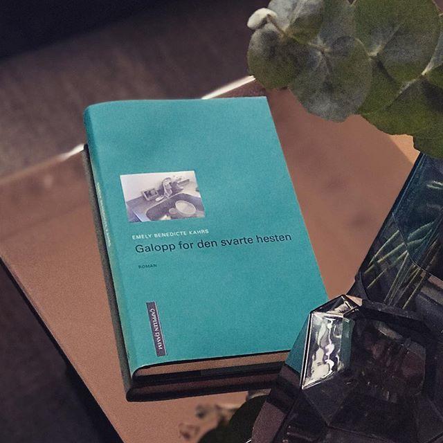 Skal du lese én bok i høst så la det bli «Galopp for den svarte hesten» skrevet av vår fantastiske arkitekt, og nå også forfatter, @emelybenedicte 📗#cappelendamm #galoppfordensvartehesten #bokhøst