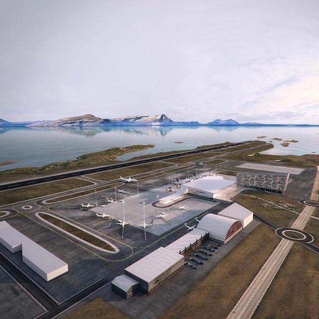 I går publiserte Avinor illustrasjoner av nye Bodø lufthavn ✈️ Sammen med @lpoarkitekter og @norconsult tegner vi nå på det som skal bli en fantastisk lufthavn i nydelige omgivelser 🏔☀️