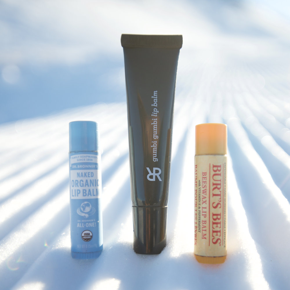 lip balms for skiing