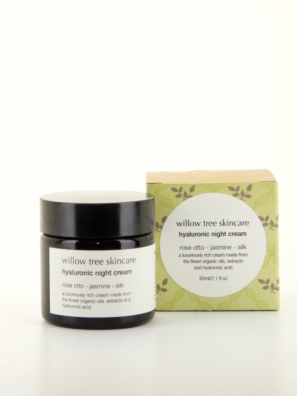 Willow Tree Skincare Hyaluronic Night Cream £17