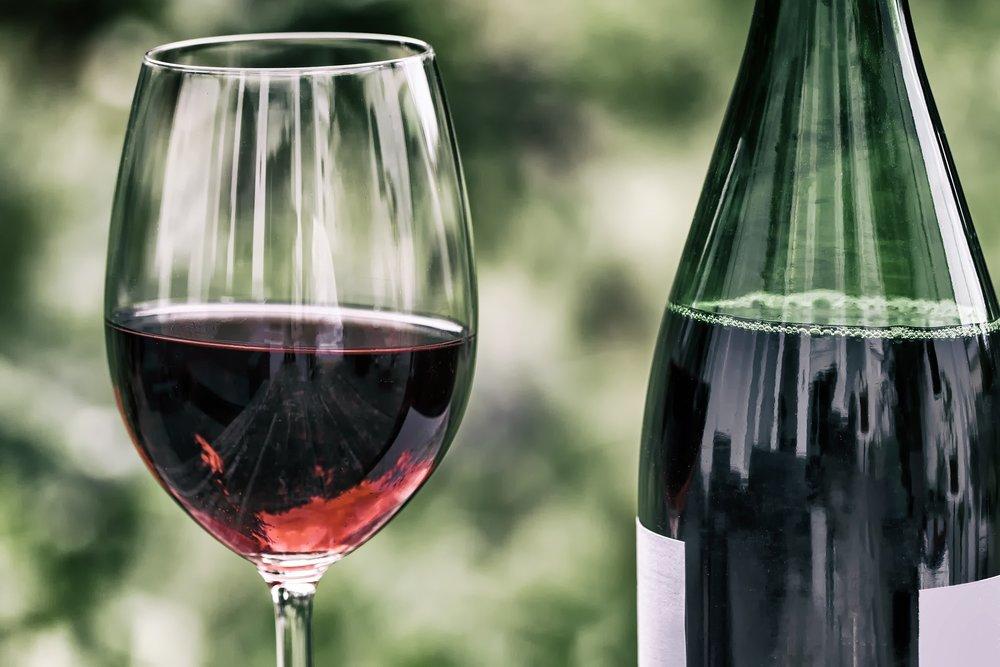 10. Rødvin -
