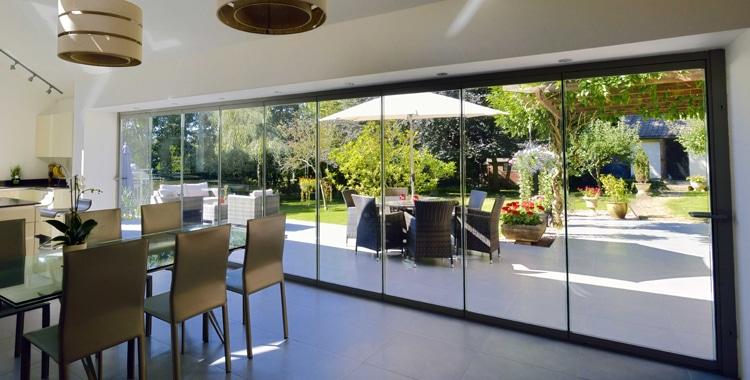 Sliding Vs Bi Fold Glazing Curtain Wall A L E Z Architecture