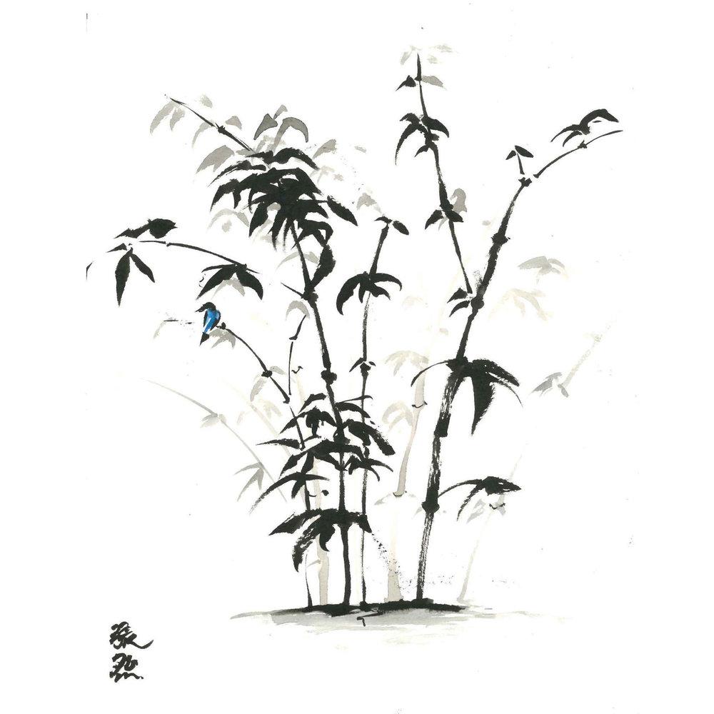 blue bird on bamboo.jpg