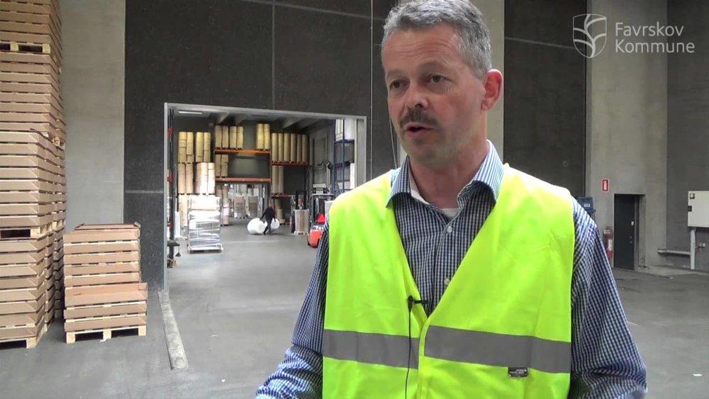 Ejerleder og afdelingsleder i MC Emballage, Peder K. Eriksen