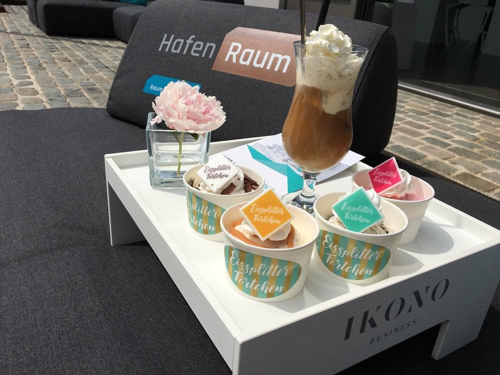 HafenRaum Eiscafe Eissplittertörtchen
