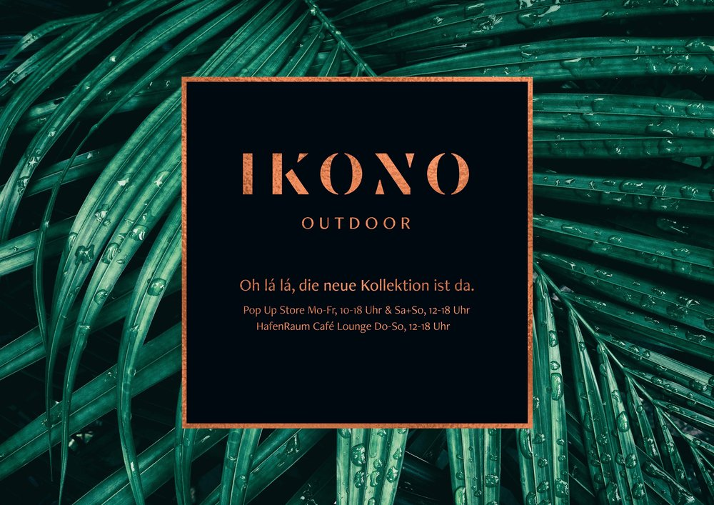 IKONO Outdoor Pop Up Store