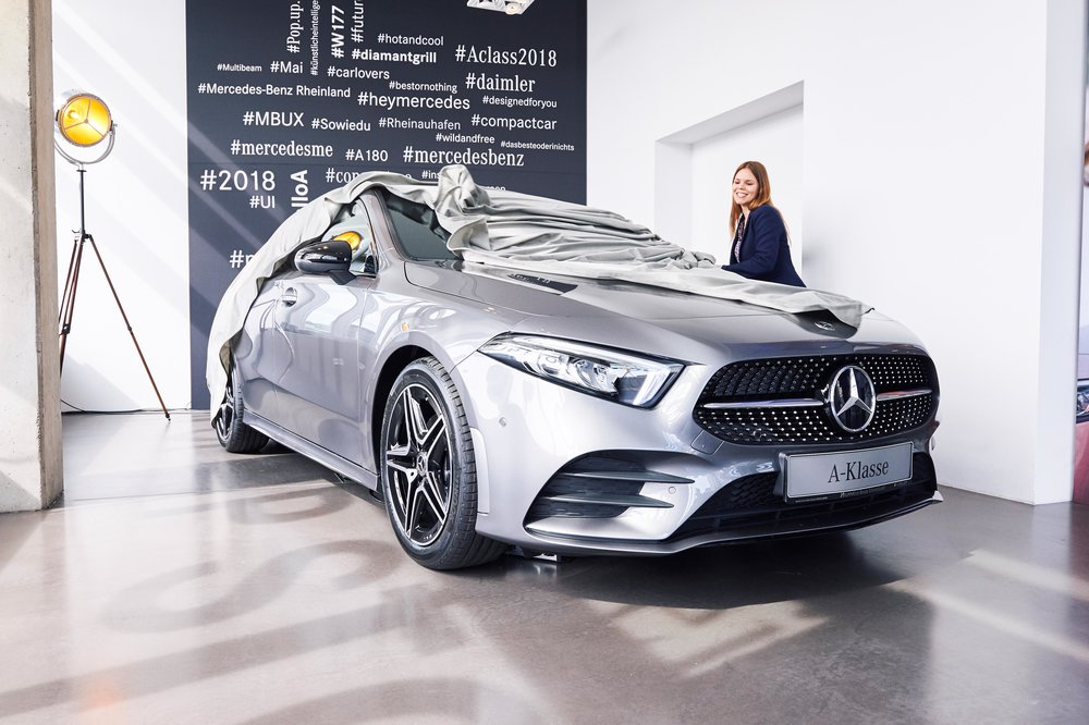 Mercedes-Benz Pop Up Store