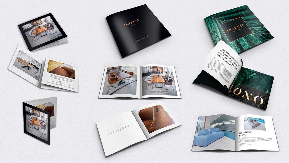IKONO Markenbegleitung Printmedien