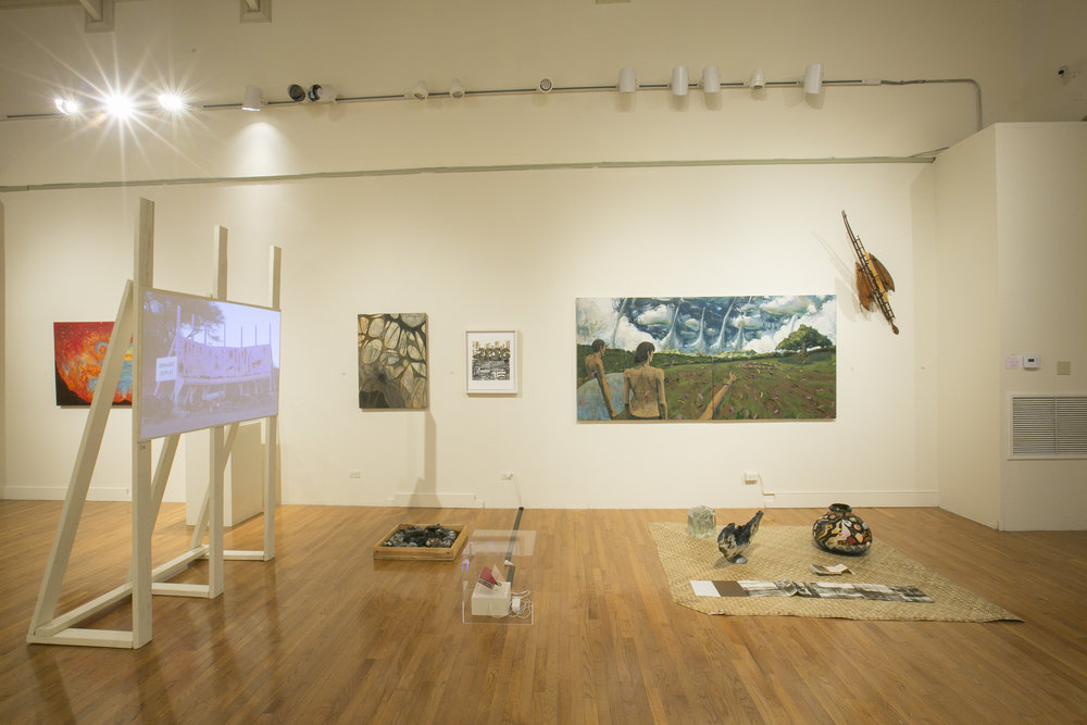 Installation view of CONTACT 3017: Hawai'i in a Thousand Years