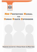 الحماية الدولية  :   دليل حماية جديد للمدافعين عن حقوق الإنسان    هذا الدليل متاح      بالإنجليزية   ،      والفرنسية   ،      والإسبانية