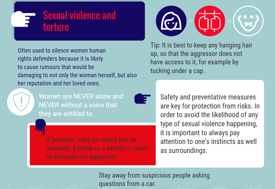 SEXUAL VIOLENCE AND TORTURE
