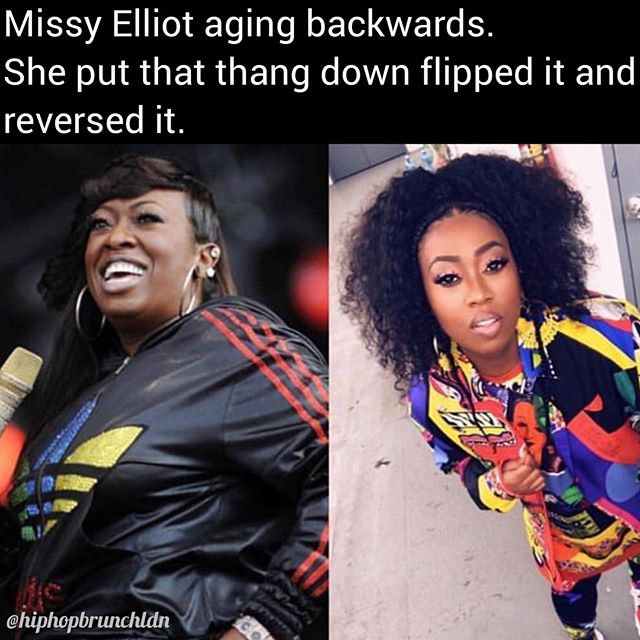 1. She looks fantastic 2. What a jam 3. It will be playing at the Queens Edition 4. Ladies get 20% off MAR 23rd by using code QUEENS20 at checkout. #JustSayin #MissyElliot  Tickets & info 👉 link in bio