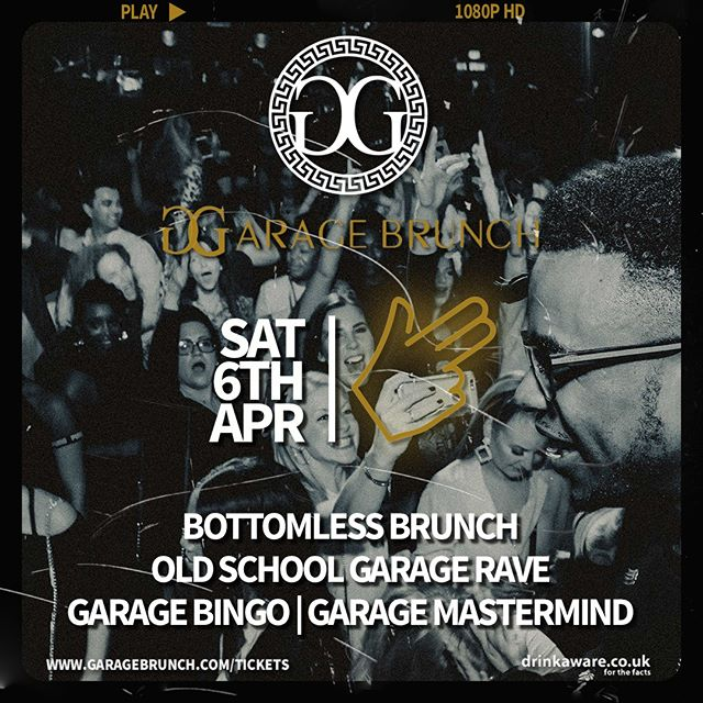 Don't miss out on The Original Garage Brunch this April! 😆🙌 Get those gun fingers ready and get booking! #GoodVibesOnly #oioi  Tickets & info 👉 link in bio  #GarageBrunch . . . . #ukgaragebrunch #garagegirl #garagegirls #ukg #garage #garagemusic #ukgarage #ukgaragemusic #oldskoolgarage #oldschoolgarage #daytimerave #daytimeraver #garagerave #garageraver #2step #bassline #pirateradio #dayparty #dayrave #itsalondonthing #londonbrunch #brunch #boozybrunch #bottomlessbrunch #bottomlesscocktails