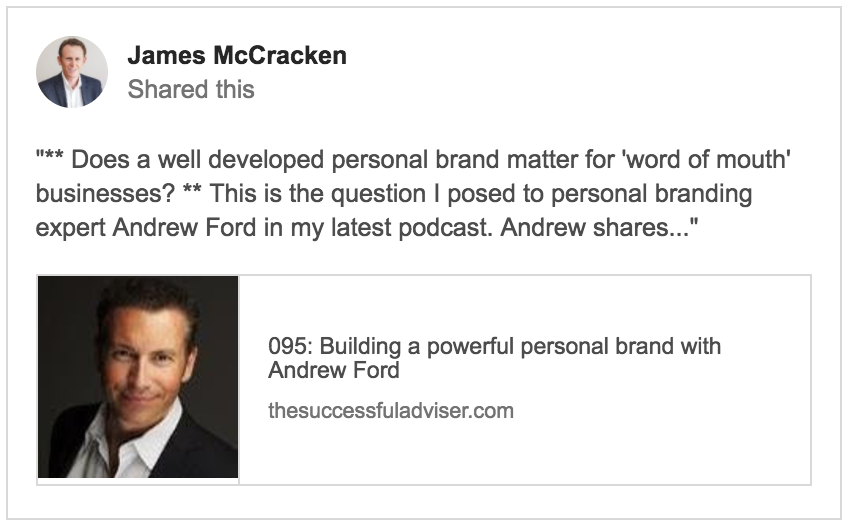 Andrew Ford Podcast with James McCracken