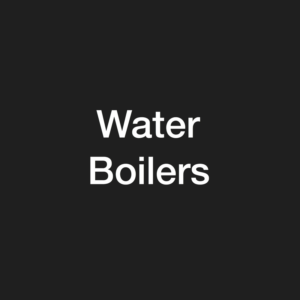 Water Boilers - stock clearance
