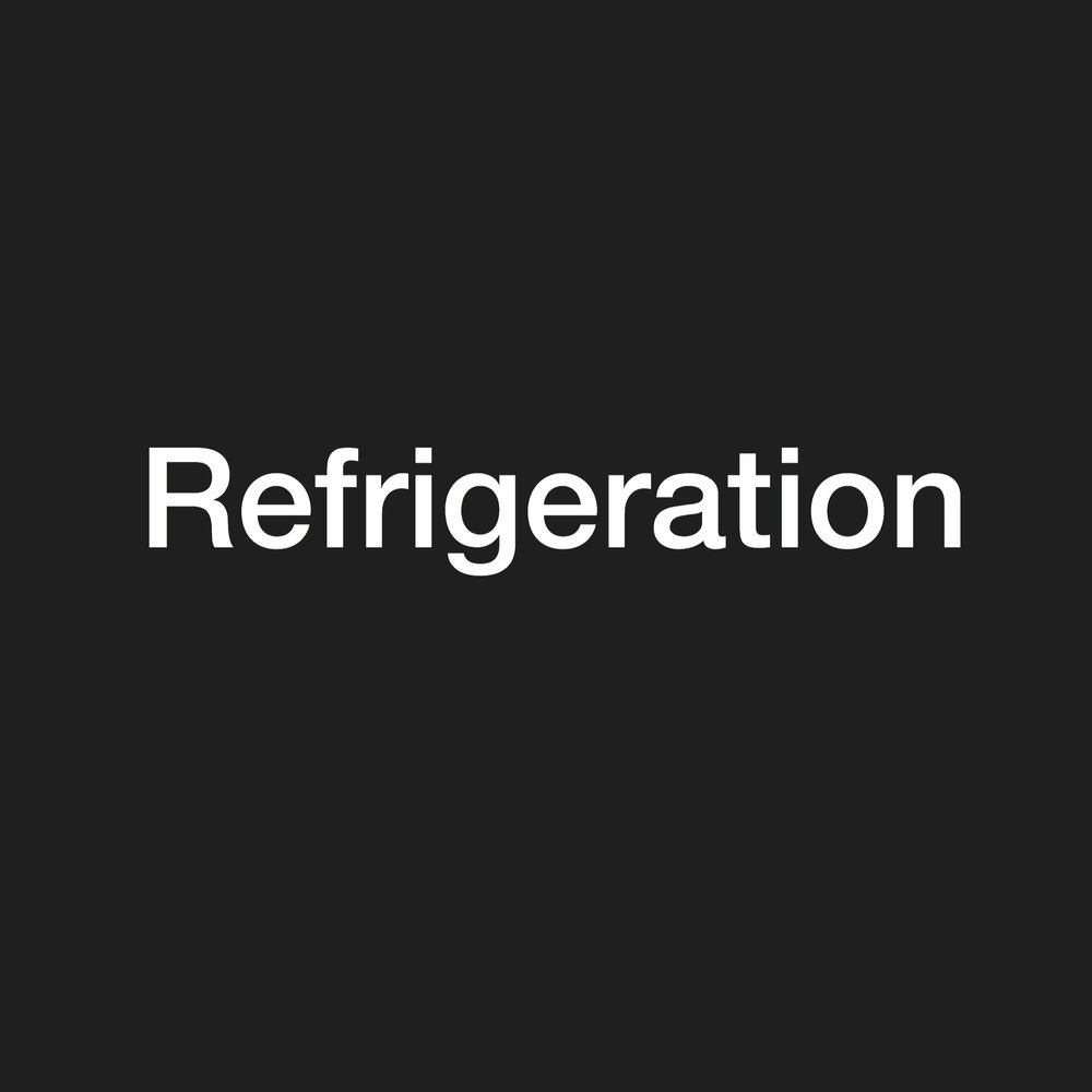 refrigeration - stock clearance