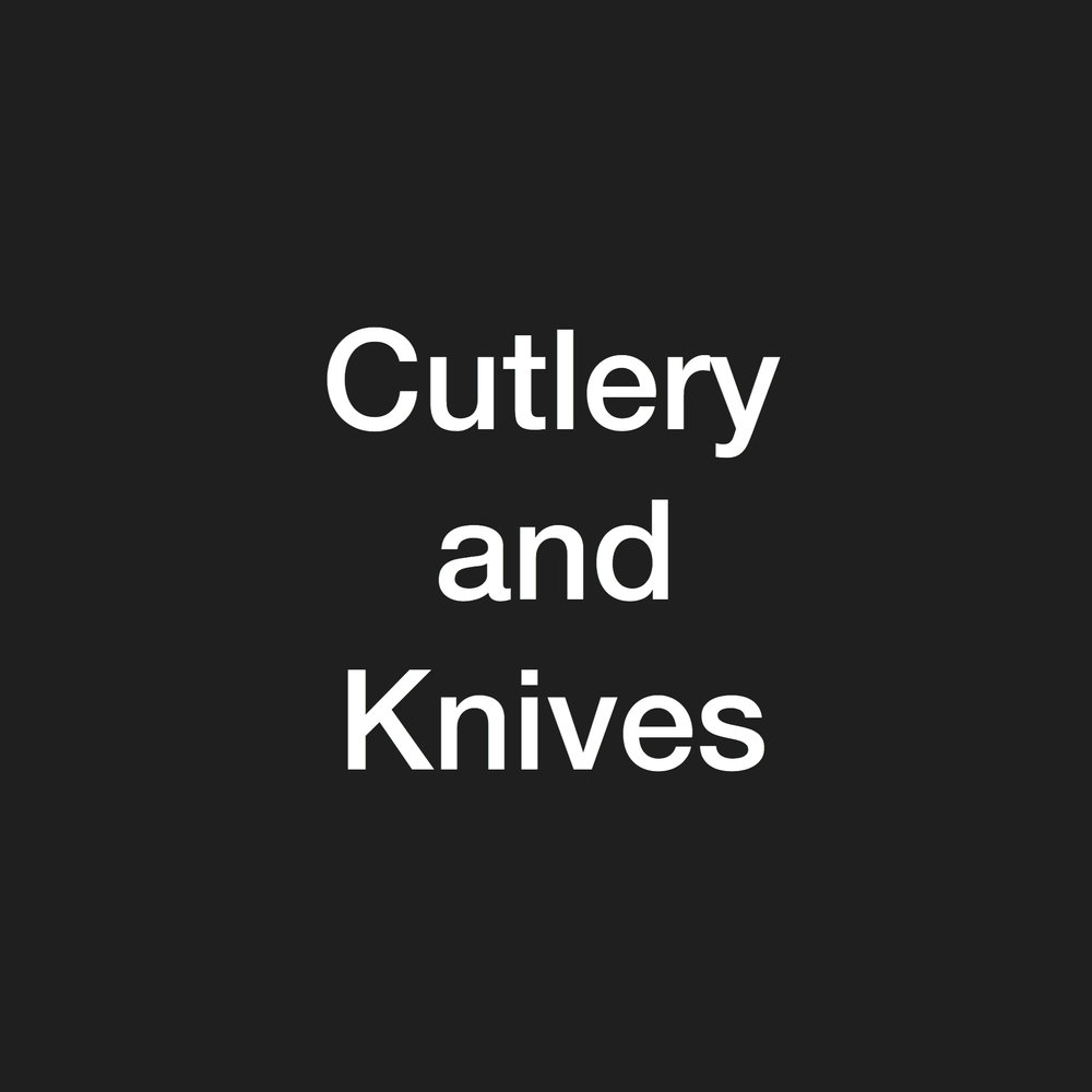 cutlery and knives - stock clearance
