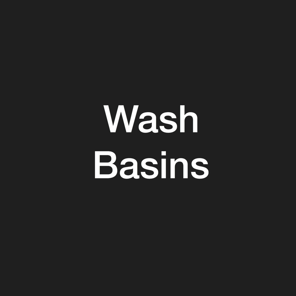 wash basins - stock clearance