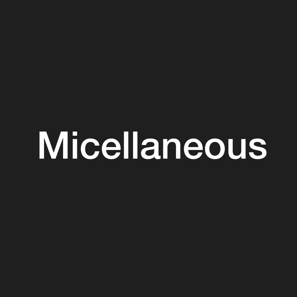 Micellaneous - stock clearance